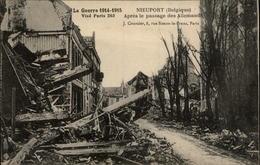 BELGIQUE - NIEUPORT - Ruines - Guerre 14-18 - - Nieuwpoort
