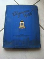 ALBUM ALLEMAND DES JEUX OLYMPIQUES D HIVER EN 1936 - Documents