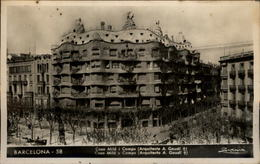 ESPAGNE - BARCELONE - Gaudi - Barcelona