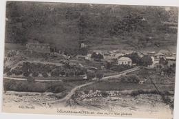 CPA A6    COLMARS LES ALPES - Vue Générale- Maisons-le Fort - Andere Gemeenten