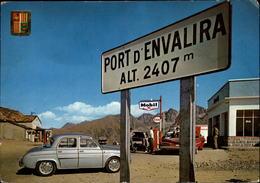 ANDORRE - Sommet Du Port D'Envalira - Station Essence - Pompes à Essence - Andorre