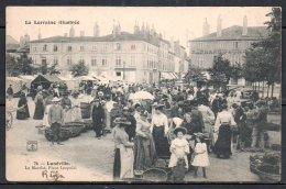 54-Lunéville, Le Marché, Place Léopold - Luneville