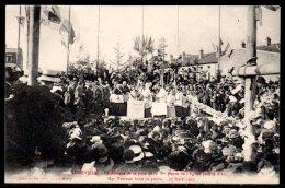 54-Lunéville, Cérémonie De La Pose De La 1ere Pierre De L'église Jeanne D'Arc, Mgr Turinaz Bénit La Pierre - Luneville