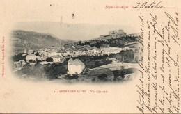 04 SEYNE-les-ALPES  Vue Générale - France