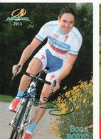 CYCLISME TOUR  DE  FRANCE  Autographe   BORUT BOZIC - Wielrennen