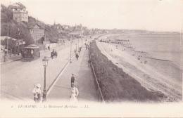 ALTE  AK  LE HAVRE / Dep. 76  - Le Boulevard Maritime & Strassenbahn - 1905 Ca. - Le Havre