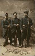 MILITARIA - Marins Sur Le Front - Guerre 1914-18