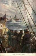 MILITARIA - Marins - Carte Illustrée Par Fouqueray - Guerre 1914-18