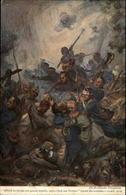 MILITARIA - Melle - Carte Illustrée Par Fouqueray - Guerre 1914-18