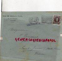 BELGIQUE- ANVERS- ENVELOPPE HIJA DE JOAQUIN PUJOL-11 RUE VLEMINCKX-1926- PIERRE PERUCAUD SAINT JUNIEN - Petits Métiers