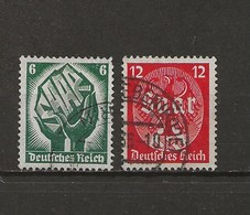 Timbres Juin 1934. - Allemagne