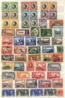 BRITISH COMMONWEALTH KGVI M & U Range Of Singles Housed In A Stock Book, Odd 1949 UPU Set, 1937 Coronation Etc. (100's) - Timbres