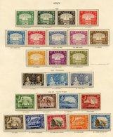 ADEN 1937-51 Complete Incl. Dhow Set M, 1939-48 Set UM, 1948 Wedding UM, 1949 UPU UM, 1951 Surcharge Set UM. KATHIRI STA - Non Classés