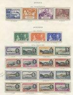 ANTIGUA 1937 Coronation, 1938-49 Defin Set, 1949 UPU Set, All UM (some Gum Toning). ASCENSION 1937 Coronation, 1938 Defi - Non Classés