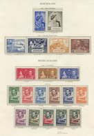 BAHAMAS 1937-49 Incl. 1938 Set UM, 1948 Tercentenary Set UM (gum Disturbances/toning), 1949 UPU. BARBADOS 1938-47 Set UM - Non Classés