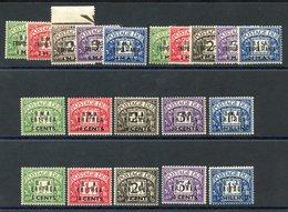 ERITREA & TRIPOLITANIA 1948 & 1950 Postage Due Sets Of Each (4 Sets) UM (some Gum Toning), SG.ED1/10 & TD1/10, Cat. £295 - Non Classés