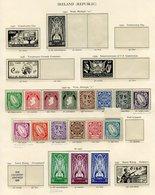 GILBERT & ELLICE ISLANDS 1949 UPU UM, 1940 Postage Due Set UM (5 Are Top Marginals), GOLD COAST 1938 Set & 1949 UPU Set  - Non Classés