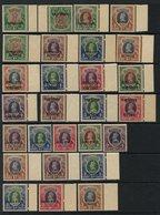 INDIAN CONVENTION STATES - CHAMBA 1927 1r Wmk Upright & 1r Wmk Inverted (SG.75 & 75w), 1938 15r (SG.98), 1942-47 1r (SG. - Non Classés