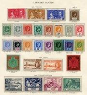 JAMAICA 1937-48 UM Incl. 1938 Set, 1949 UPU & 1948 Wedding. LEEWARD ISLANDS 1937 Coronation, 1938 Defin Set (gum Disturb - Non Classés