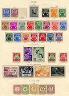 JOHORE 1936-49 Incl. 1949 Set UM, 1948 Wedding UM, 1949 UPU UM (toned), 1938 Dues (toned). Cat. £475. (35) - Non Classés