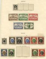 KEDAH 1937 Set UM (toned Gum), 1949 UPU UM, 1950-52 Set (excl. $2) UM (gum Disturbance). KELANTAN 1949 UPU UM, 1951-52 S - Non Classés