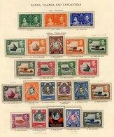 K.U.T 1937-49 Virtually Complete Incl. 1938-54 Set UM (odd Tone), Some Extra Perfs Etc, 1948 Wedding, 1949 UPU UM, 1935  - Non Classés