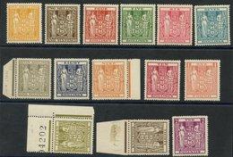 NEW ZEALAND 1940-58 Arms 1/3d, 2/6d, 4s, 5s, 6s M, 7s, 7/6d, 8s, 9s, 10, 15s, £1, 30s Wmk Inverted & £2 Wmk Inverted, Al - Non Classés
