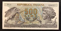 500 Lire Aretusa 23 02 1970 Spl/sup   LOTTO 1741 - [ 2] 1946-… : Repubblica