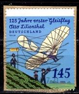 D+ Deutschland 2016 Mi 3254 Gleitflugversuch Otto Lilienthal - [7] République Fédérale