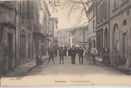 PAMIERS         LA RUE DE LOUMET - Pamiers