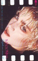Télécarte Japon / 110-28362 - Musique - MADONNA *  (49) Japan Music Star Phonecard - Musik Telefonkarte - Cinema