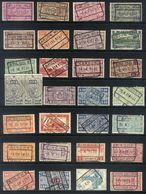 Y64 - Belgium - Railway Parcel Stamps - Used Lot - Bahnwesen