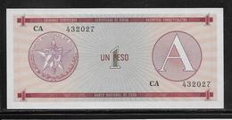 Cuba - 1 Peso - Pick N° FX1 - NEUF - Cuba