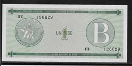 Cuba - 1 Peso - Pick N° FX6 - NEUF - Cuba