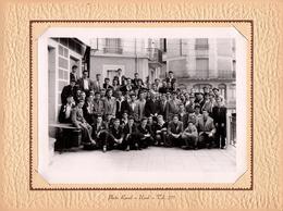 Gde Photo Originale Scolaire Raoul Ussel - Tél. 277 - Ecole De Garçons Vers 1950/60, Coiffure Banane & Costards - Personnes Identifiées
