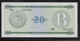 Cuba - 20 Pesos - Pick N° FX9 - NEUF - Cuba