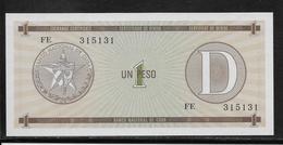 Cuba - 1 Peso - Pick N° FX27 - NEUF - Cuba