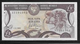 Chypre - 1 Pound - Pick N°53c - SUP - Cyprus