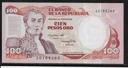 Colombie - 100 Pesos - Pick N°426a - NEUF - Colombie