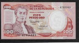 Colombie - 100 Pesos - Pick N°426b - NEUF - Colombie