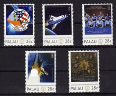 Palau Set 2010 Mnh Stamps Challenger Tribute 1986. - Space