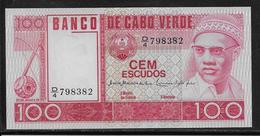Cap Vert - 100 Escudos - Pick N°54 - NEUF - Cabo Verde