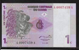Congo - 1 Centime - Pick N°80 - NEUF - Democratic Republic Of The Congo & Zaire