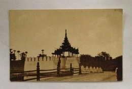 PPC Myanmar (Birma) - Mandalay (One Of The Entrances To The Old Walled City) Unused - Myanmar (Burma)