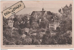 02 Essomes-sur-Marne - Cpa / L'Eglise Et Le Château - Vue Prise De La Croix De L'Ane. - France