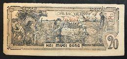 1948 Vietnam 20 Dong Pick 26 LOTTO 1751 - Vietnam