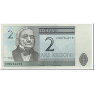 Billet, Estonia, 2 Krooni, 2007, Undated (2007), KM:85b, NEUF - Estonie