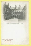 * Antwerpen - Anvers - Antwerp * (G.H.) La Cour Du Musée Plantin, Chocolaterie Ad. Swolfs Confiserie, Rare, Old - Antwerpen