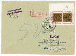 Nr. 585 EF Randmarke Nachgebühr, Da Annahme Verweigert - BRD