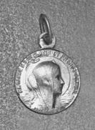 """WW1 - Médaille Religieuse D'aviateur """"Notre-Dame Du Platin""""  Saint-Palais-sur-Mer - Aviator Medal - WWI - 1914-18"""